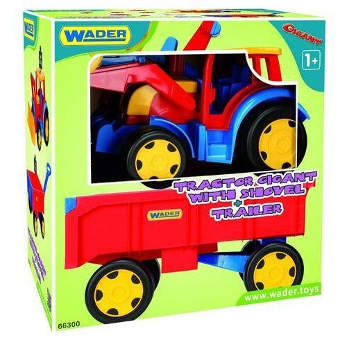 Wader Ładowarka z przyczepą 120 cm gigant traktor
