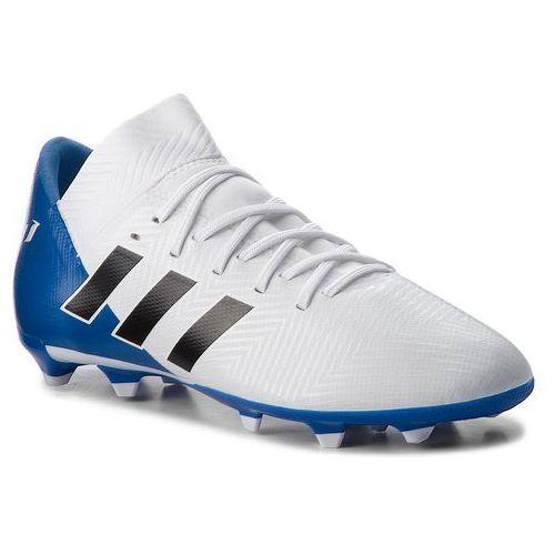 Adidas Buty - nemeziz messi 18.3 fg j db2364 ftwwht/cblack/fooblu