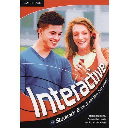 Interactive 3 Książka Ucznia Plus Web Zone Access, Cambridge University Press
