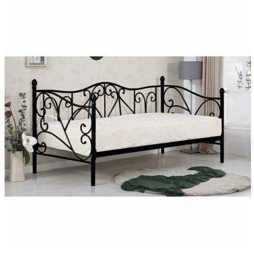 łóżko Dolie 90x200 Czarne Producent Elior