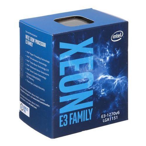 Intel Procesor serwerowy xeon e3-1270 v6 3.8 ghz, 8mb, box (bx80677e31270v6) darmowy odbiór w 20 miastach