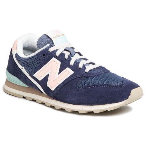 Sneakersy NEW BALANCE - WL996COJ Granatowy