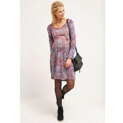 MAMALICIOUS MLHANNE Sukienka z dżerseju black iris z kategorii Sukienki ciążowe
