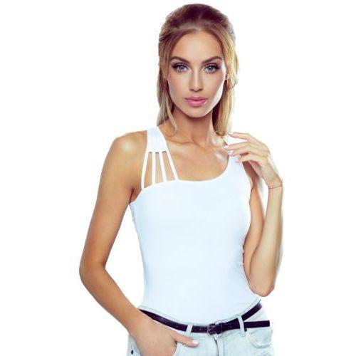 Eldar Iman koszulka bawełniana damska romantica active biała - biały