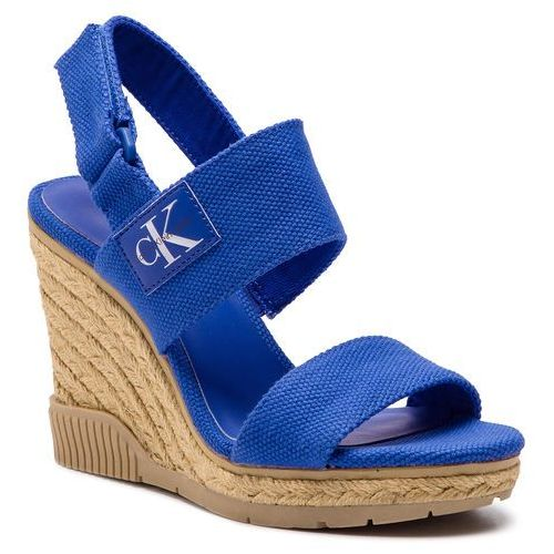 e4e508e32e425 Calvin Klein Espadryle CALVIN KLEIN JEANS - Lacey Canvas R8811 Nautical Blue