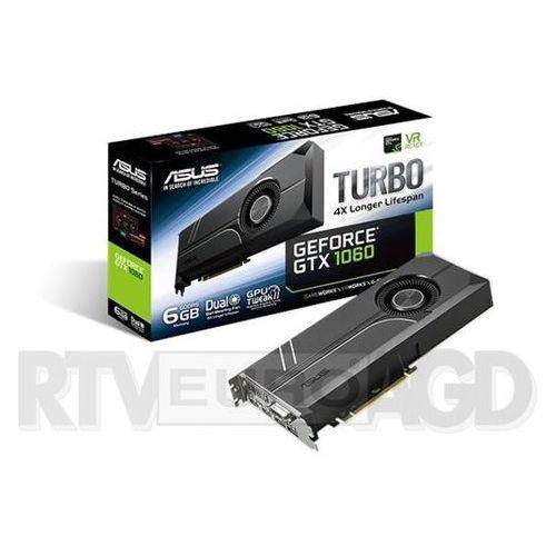 ASUS Turbo GeForce GTX 1060 6GB GDDR5 192 bit - produkt w magazynie - szybka wysyłka!, TURBO-GTX1060-6G