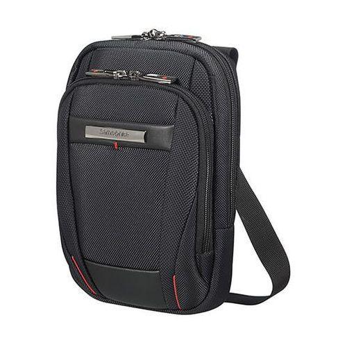 "Samsonite PRO-DLX 5 Crossover S mała torba na ramię / na tablet 8"" / saszetka / czarna - Black (5414847851407)"