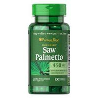Saw Palmetto 450mg 100 kaps.
