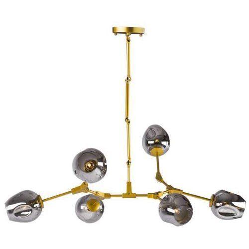 Lampa Wiszaca St 1232 6 Gold Modernistyczna Oprawa Zwis Nantes