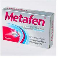 Metafen tabl.powl. 0,2g+0,325g 20tabl. (5909991183455)