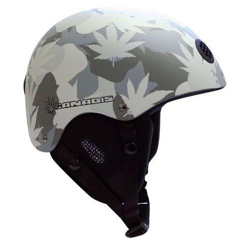 Uniwersalny kask narciarski WORKER CANADIS, Grafika liści, S (48-54) (8595153609597)