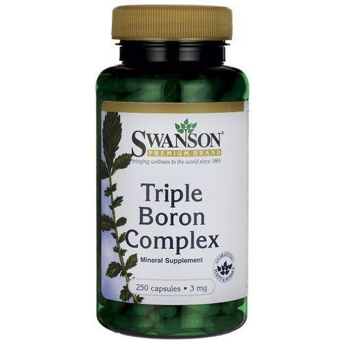 Swanson Triple Boron complex 3mg 250kaps Bor - suplement diety