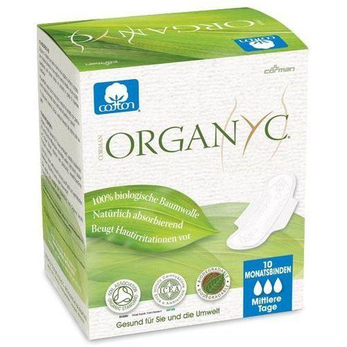 Organyc Podpaski higieniczne z bio-bawełny ze skrzydełkami na dzień (♠♠♠)