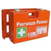 """Przemysłowa apteczka pierwszej pomocy """"k 20 plus"""" 2x din 13164 w walizce z tworzywa marki Luksell"""