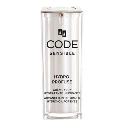 Aa code sensible Intensywnie nawilżający krem z formułą typu hydro-oil (5900116027197)