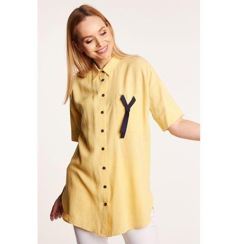 Długa koszula w kratkę , 1 rozmiar (Jelonek)