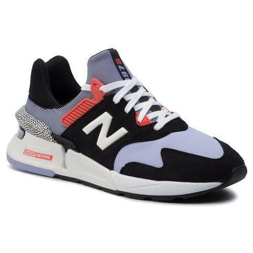 Sneakersy - ws997jcd fioletowy kolorowy marki New balance