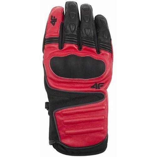 Rękawice narciarskie męskie REM153Z - czerwony (5901965778148)