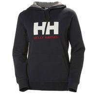 Helly Hansen HH Logo Bluza Kobiety, niebieski M 2021 Bluzy