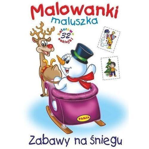 Malowanki maluszka Zabawy na śniegu, Ernest Błędowski
