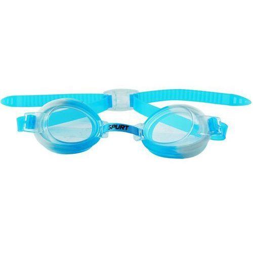 Okularki pływackie SPURT 173 AF Niebiesko-Biały