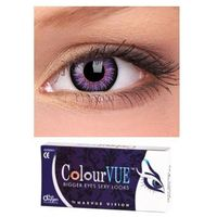 Soczewki Big Eyes Glamour Violet - ColourVue - 1 para