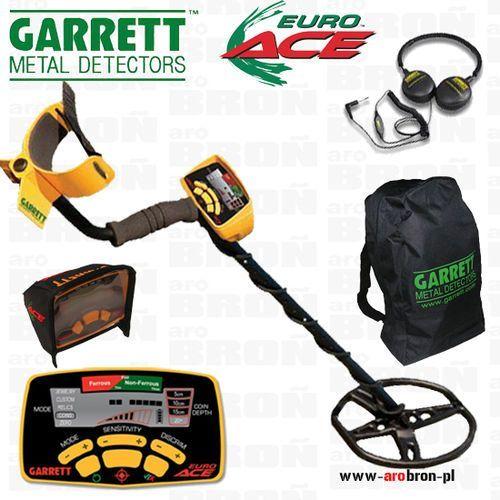 Wykrywacz metalu euro ace 350 + słuchawki Garrett