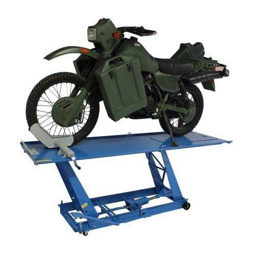 Podnośnik hydrauliczny motocyklowy trapezowy 450 kg marki Mammuth