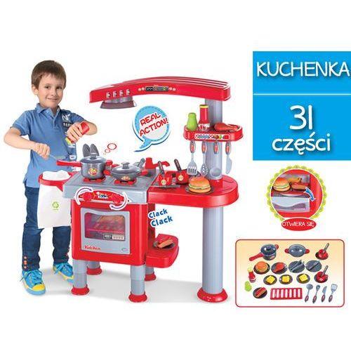 Duża Kuchnia Dla Dzieci Z Akcesoriami Piekarnik Okap 008 83 Kindersafe