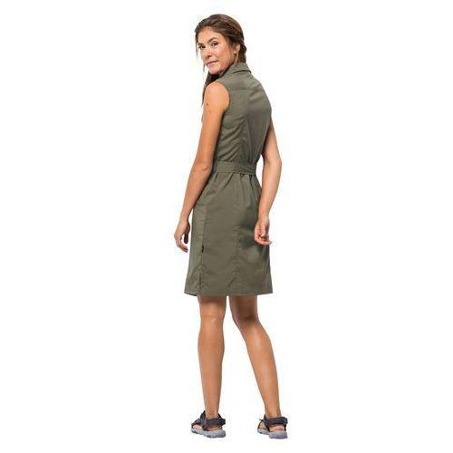 JACK WOLFSKIN Sportowa sukienka oliwkowy