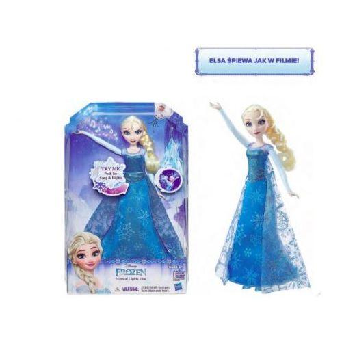 Lalka HASBRO Frozen Rozświetlona śpiewająca Elsa i DARMOWY TRANSPORT  5010994980344