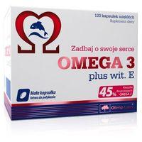OLIMP Omega 3 plus Wit. E - 120 kaps. miękkich (5901330032776)