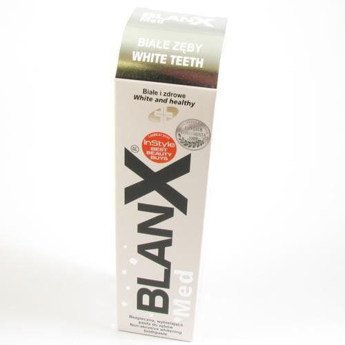 Blanx Pasta do zębów wybielająca med pasta białe zęby 100ml