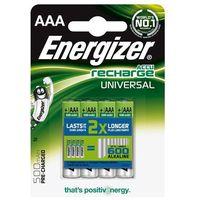 akumulator universal, aaa, hr03, 1,2v, 500mah, 4szt. darmowy odbiór w 20 miastach! marki Energizer