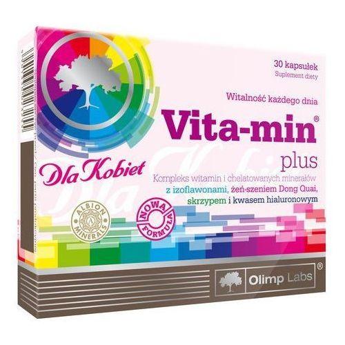 Olimp labs Witaminy i minerały dla kobiet + kwas hialuronowy vita-min plus 30 kapsułek