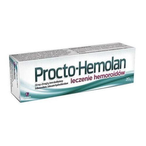 Procto-hemolan krem 20g Aflofarm - Rewelacyjny upust