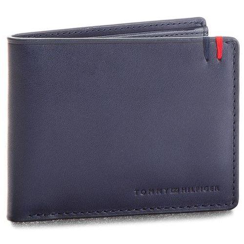 b6116d25541b9 Mały Portfel Męski TOMMY HILFIGER - Burnished Mini Cc Wallet AM0AM03059 413