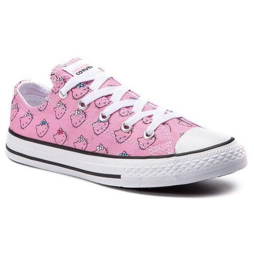 Trampki - ctas ox prism pink 664638c prism pink/white/w marki Converse