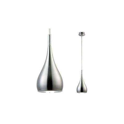 Lampa wisząca anon satin ma01986cf 001 metalowa oprawa zwis kropla łezka satyna (Italux)