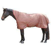 Kerbl Derka dla konia RugBe SuperHighNeck, brązowa, 145 cm 328670
