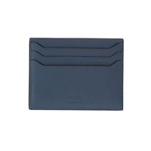 Lancel CARD HOLDER Etui na wizytówki denim, A08739