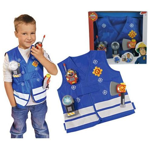 Simba Strażak sam kamizelka strażacka z akcesoriami