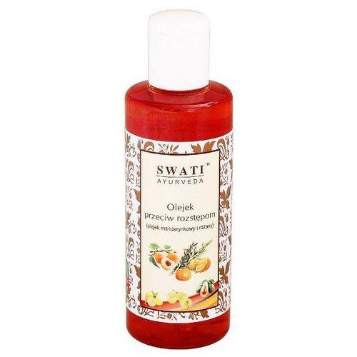 Olejek przeciw rozstępom mandarynkowo różany Swati 210 ml