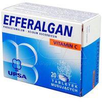 Tabletki EFFERALGAN Z VITAMINĄ C 20 tabletek musujących