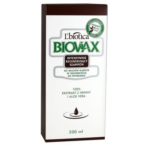 Biovax szampon do włosów słabych ze skłonnością do wypadania 200ml L`biotica