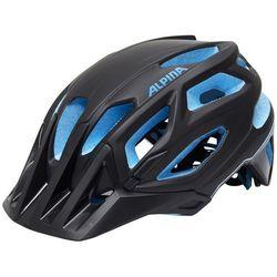 Alpina garbanzo kask rowerowy niebieski/czarny 53-57cm 2018 kaski rowerowe