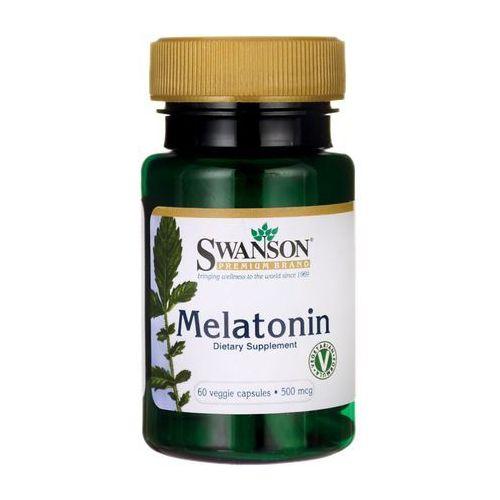 Swanson Melatonina 500mcg 60 kaps