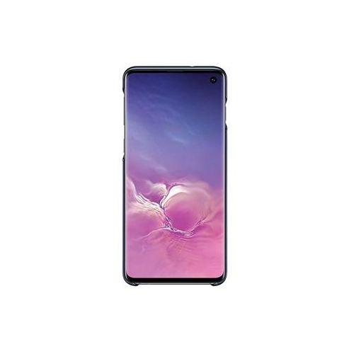 galaxy s10 led cover ef-kg973cb (czarny) marki Samsung