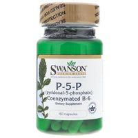 Swanson Witamina B6 P-5-P (pyridoxal-5-phosphate) 20 mg - 60 kapsułek