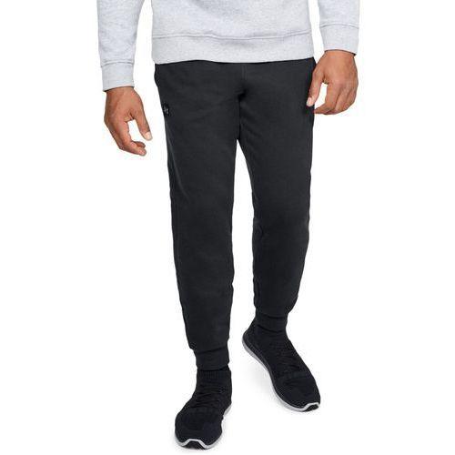 spodnie dresowe sportowe armour fleece jogger czarne - czarny marki Under armour